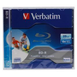 BD-R Verbatim 25Gb 6x Jewel Ink Print