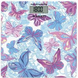 Весы напольные Scarlett SC-BS33E079 голубой/рисунок