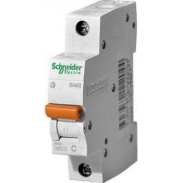 Автоматический выключатель Schneider Electric ВА63 1П 50A C 11208