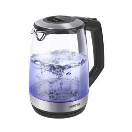 Чайник Marta MT-1095 черный жемчуг 2200 Вт, 2 л, стекло