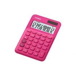 Калькулятор настольный CASIO MS-20UC-RD-S-EC 12-разрядный красный