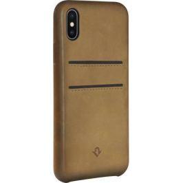 Чехол-накладка Twelve South Relaxed Leather для iPhone X кожа коричневый 12-1737