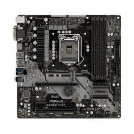 Материнская плата ASRock Z370M PRO4 (S1151, Z370, 4*DDR4, 2*PCI-E x16, 2*PCI-E x1, D-Sub, DVI, HDMI, SATA III+RAID, GB Lan, USB 3.1, ATX, Retail)