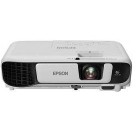 Проектор Epson EB-W41 LCDx3 1280x800 3600ANSI Lm 15000:1 VGA HDMI USB белый V11H844040
