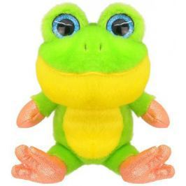 Мягкая игрушка Wild Planet Лягушонок 15 см зеленый искусственный мех K7852