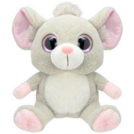 Мягкая игрушка Wild Planet Мышка 19 см серый искусственный мех K7863