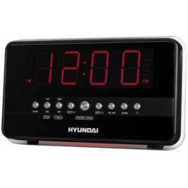 Радиобудильник Hyundai H-1549 черно-красный