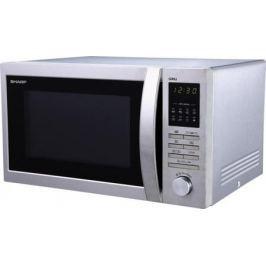 Микроволновая печь Sharp R7496ST 25л гриль 900Вт серебристый