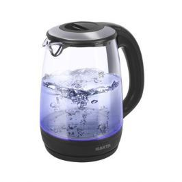 Чайник Marta MT-1094 черный жемчуг 2200 Вт, 2 л, стекло