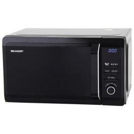 Микроволновая печь Sharp R6852RK 800 Вт чёрный