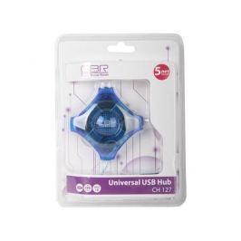 Концентратор USB 2.0 CBR CH-127 (4 порта)