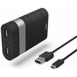 Портативное зарядное устройство Hama Joy Li-Ion 7800мАч черный 00137492