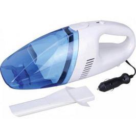 Автомобильный пылесос Zipower PM 6704 без мешка сухая уборка 80Вт бело-синий