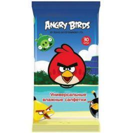 Салфетки влажные Angry Birds Techpoint 30 шт гипоаллергенные
