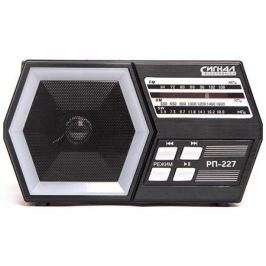 Радиоприемник Сигнал РП-227 черный