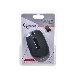 Мышь беспроводная Gembird MUSW-207 ,черн, 2кн.+колесо-кнопка, 2.4ГГц
