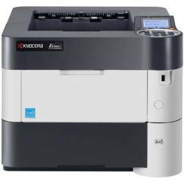 Принтер Kyocera P3050DN лазерный Настольный офисный / черно-белый / 50 стр/м / 1200x1200 dpi / A4 / USB, RJ45