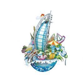 Пазл 3D 57 элементов CubicFun Городской пейзаж Дубаи OC3202h