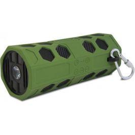 Портативная колонка CBR CMS 181Bt Green Беспроводная акустика / 2 x 5 Вт / 80 - 18000 Гц / Bluetooth 2.1 EDR