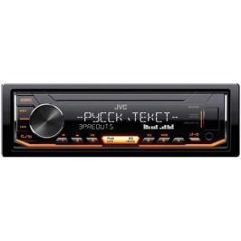 Автомагнитола JVC KD-X355 USB MP3 FM 1DIN 4x50Вт черный