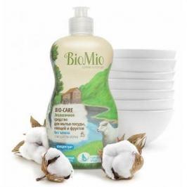 BioMio Концентрат экологичный для мытья посуды, овощей и фруктов Bio-Care с экстрактом хлопка и иона