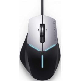 Мышь проводная DELL AW558 серый/черный USB 570-AARH