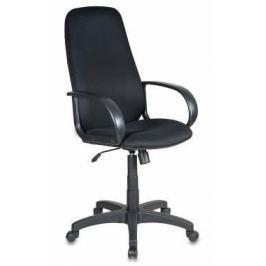 Кресло Buro CH-808AXSN/TW-11 черная тканевая обивка