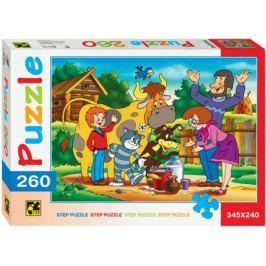 Пазл 260 элементов Step Puzzle Простоквашино 74010