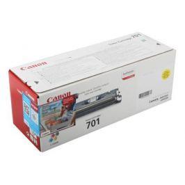 Картридж Canon 701Y для принтеров LBP5200/MF8180C. Жёлтый. 4000 страниц.