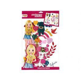 Набор для творчества Дизайнерские наклейки на одежду. Silvia Color Puppy 95218