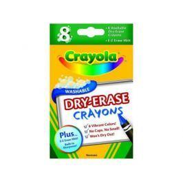 Восковые мелки Crayola 64710 8 штук 8 цветов от 3 лет