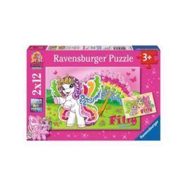 Пазл Ravensburger 2 в 1 Филли Принцесса Скарлет 24 элемента 075775