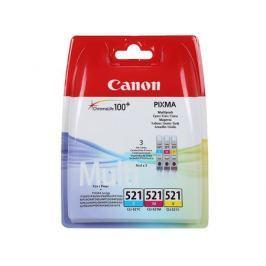 Картридж Canon CLI-521C/M/Y для iP3600/4600 (в упаковке 3 штуки). Цветные. 520 страниц/шт.