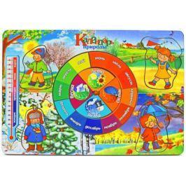 Пазл Wood Toys рамка-вкладка Календарь природы