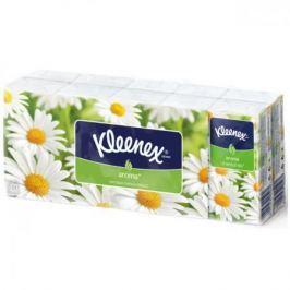 Платочки носовые Kleenex Aroma Ромашка 10 шт 3-ех слойная 9470130