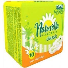 NATURELLA Classic Женские гигиенические прокладки с крылышками Camomile Normal Single 10шт