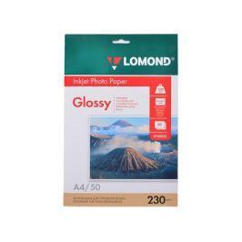 0102022 бумага LOMOND (A4, 230гр, 50л) Photo Глянцевая, 1стор.