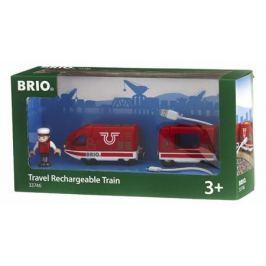 Пассажирский поезд Brio, движ.вперед-назад с USB подзарядкой,1 фиг.,18х4х5см,кор.