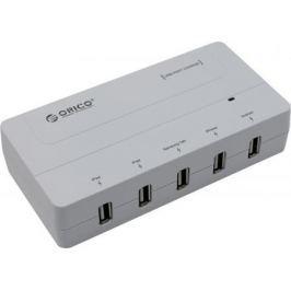 Сетевое зарядное устройство Orico DCH-5U-PRO 6А 5 х USB белый