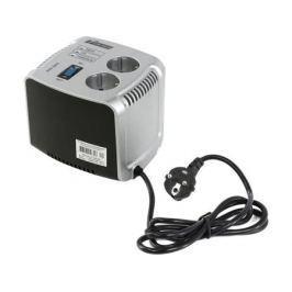 Стабилизатор напряжения Powerman AVS 500C 2 розетки серебристый