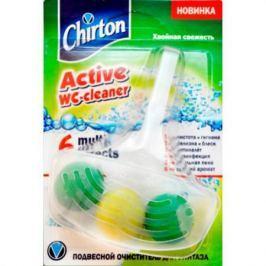 CHIRTON Подвесной очиститель для унитаза Хвойная свежесть шарики 45 г