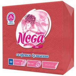 Салфетки бумажные Nega 50 шт нетканные без отдушки