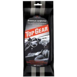 TOP GEAR Салфетки влажные для интерьера для ухода за салоном авто 30шт