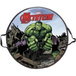 Ледянка 1toy Marvel: Hulk до 100 кг пластик рисунок Т58170 круглая