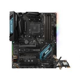 Материнская плата MSI X470 GAMING PRO CARBON AC (AM4, AMD X470, 4*DDR4, 3*PCI-E x16, 2*PCI-E x1, DP, HDMI, SATAIII+RAID, M.2, GLan, WiFi+Bt, USB 3.1, ATX, Retail)