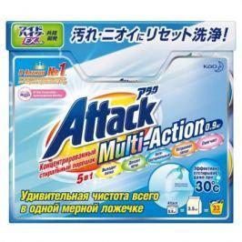 ATTACK Multi-Action Концентрированный универсальный стиральный порошок с активным кислородным пятнов