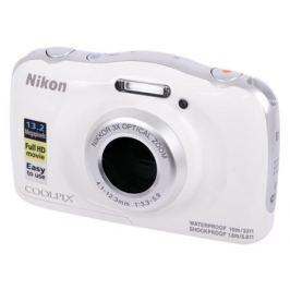Фотоаппарат Nikon Coolpix W100 White Backpack KIT (13.2Mp, 3x zoom, 2.7