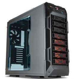 Корпус InWin BX141 GRone Metallic Grey 600W USB/Audio/Fan