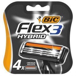 Сменная кассета BIC Flex 3 Hybrid 4
