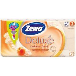 Бумага туалетная Zewa Делюкс 8 шт ароматизированная 3-ех слойная